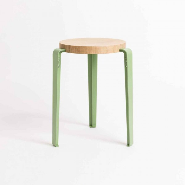 TIPTOE LOU Stool olive tree green Ansicht 1