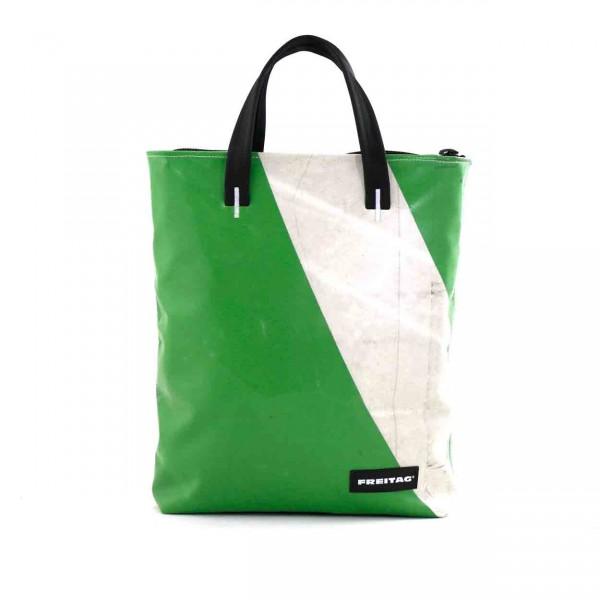 FREITAG Tasche F202 Leland grün & weiß Ansicht 1