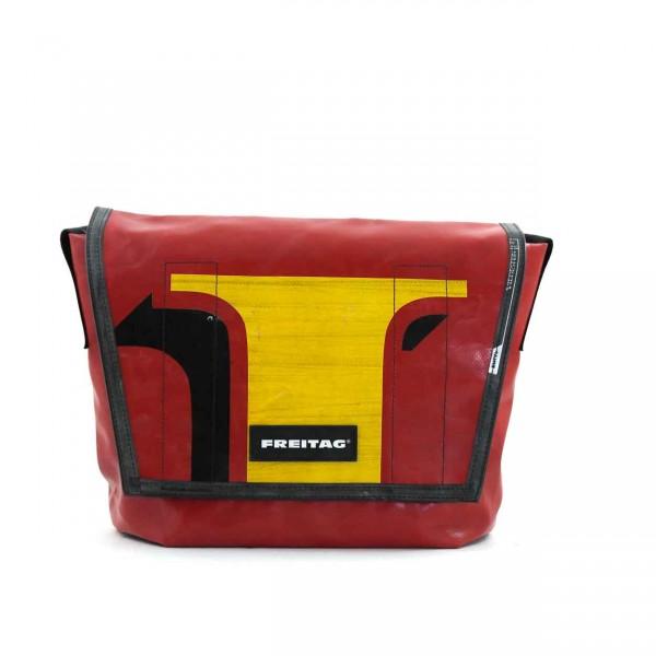 FREITAG Tasche F14 Dexter 29 Rot, Gelb & Schwarz Ansicht 1