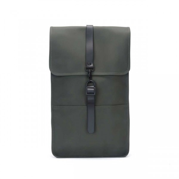 RAINS BACKPACK green Ansicht 1