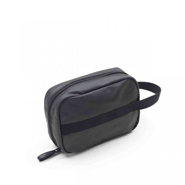 Qwstion Toiletry Kit Kulturbeutel organic jet black Ansicht 1
