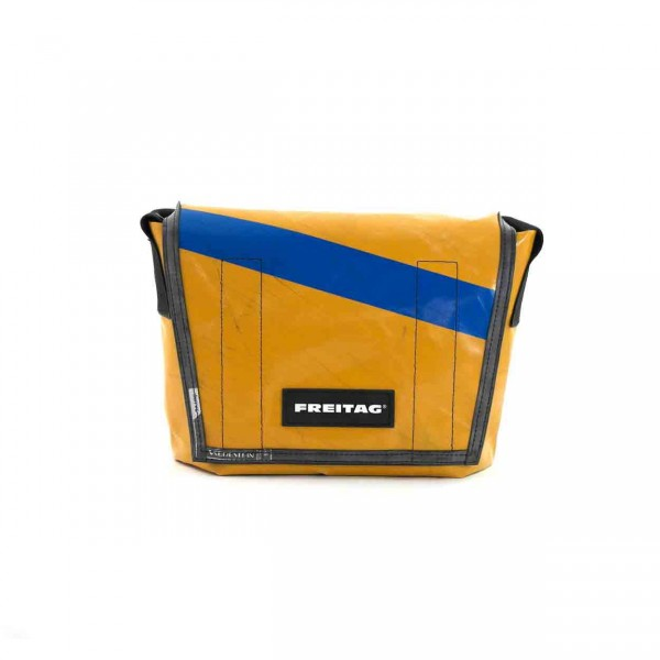 FREITAG Tasche F11 Lassie gelb & blau Ansicht 1