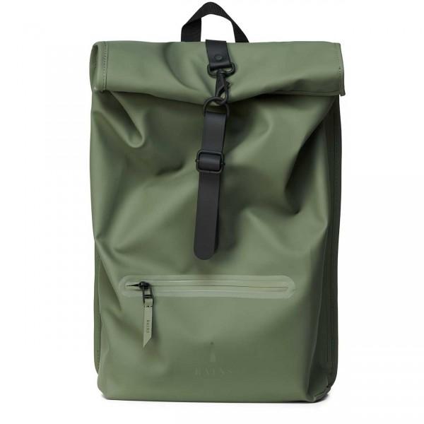 RAINS ROLLTOP Backpack olive Ansicht 1