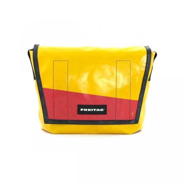 FREITAG Tasche F14 Dexter 27 gelb & rot Ansicht 1
