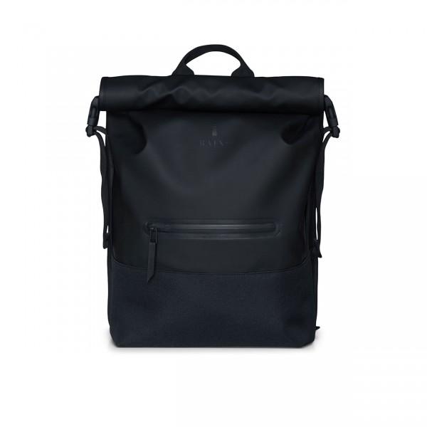 RAINS BUCKLE ROLLTOP Backpack black Ansicht 1