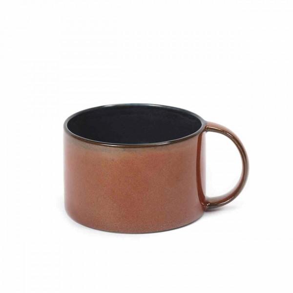 Serax Kaffeetasse D8 rust / dark blue