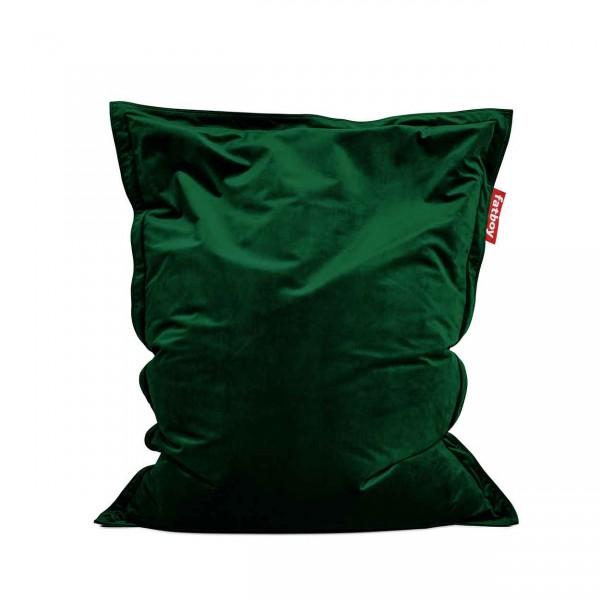 Fatboy Original Sitzsack Slim Velvet emerald green