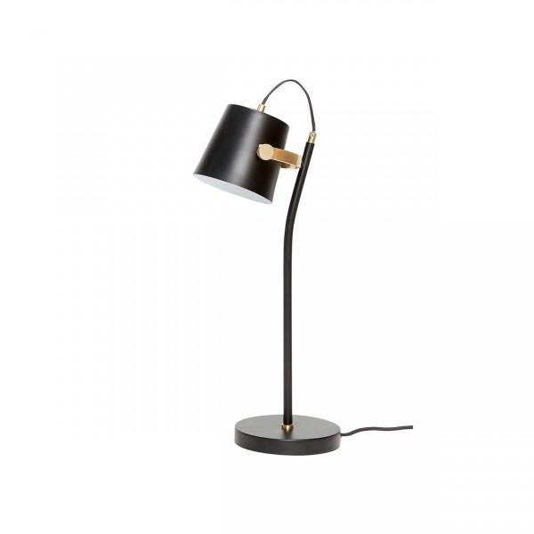 Hübsch Tischlamp schwarz/messing