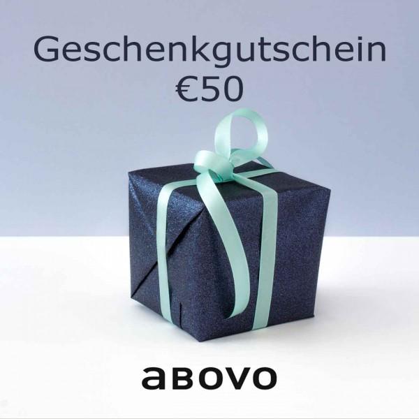 Abovo Geschenkgutschein 50 EUR