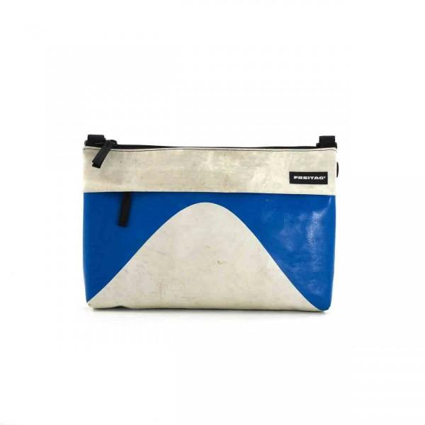 FREITAG Tasche F553 Lou weiß & blau Ansicht 1