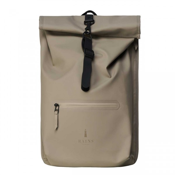 RAINS ROLLTOP Backpack taupe Ansicht 1