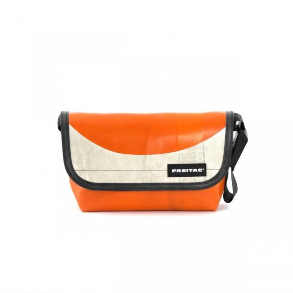 FREITAG Tasche F41 Hawaii Five-O orange & weiß Ansicht 1