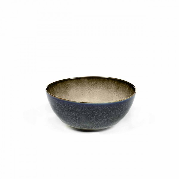 Serax Bowl D10 dark blue / misty grey