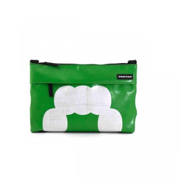 FREITAG Tasche F553 Lou grün & weiß Ansicht 1