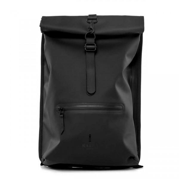 RAINS ROLLTOP Backpack black Ansicht 1