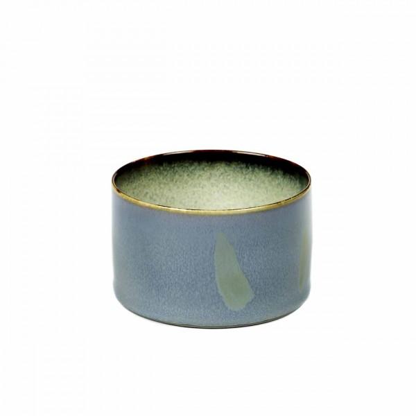 Serax Becher zylinder niedrig D7,5 smokey blue