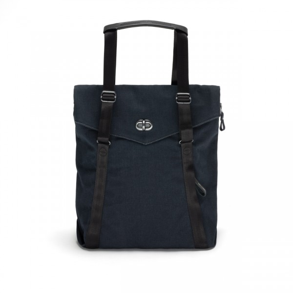 Qwstion Tote Tasche organic midnight blue Ansicht 1