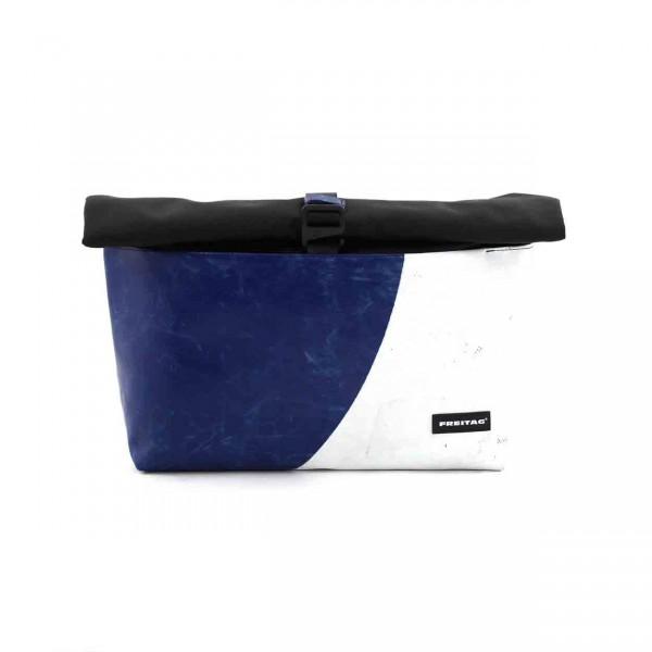 FREITAG Tasche F640 Rollin blau & weiß Ansicht 1