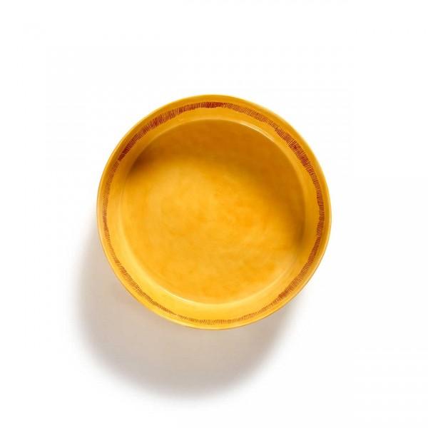 Serax Ottolenghi Salatschüssel Sunny Yellow Ansicht 1