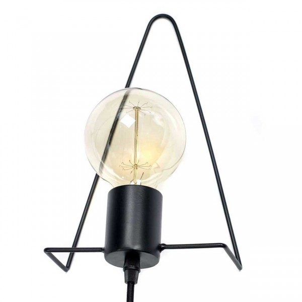 Serax Black Tria Lampe Ansicht 1