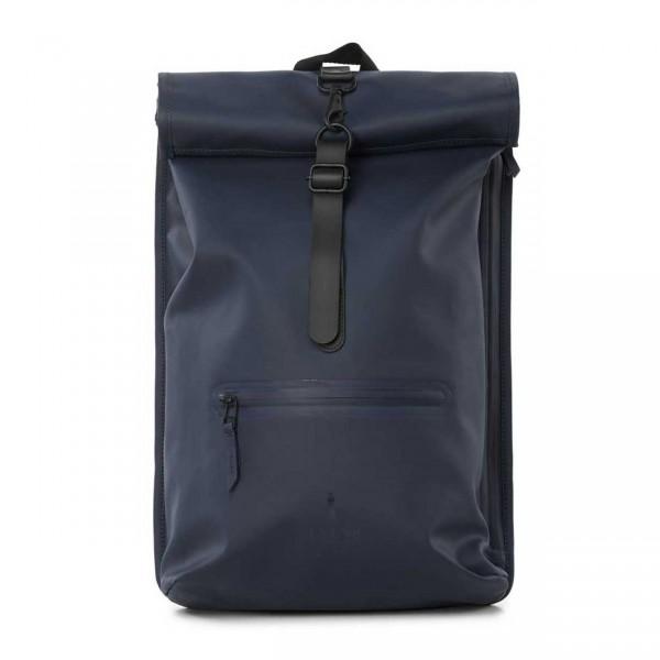 RAINS ROLLTOP Backpack blue Ansicht 1