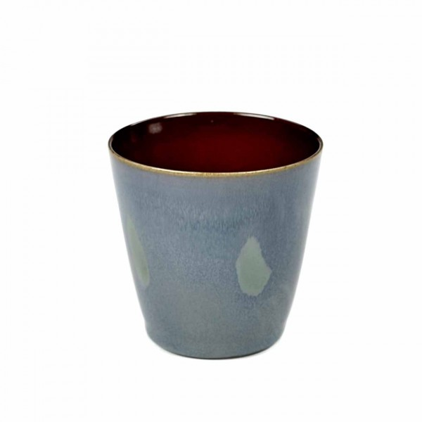 Serax Becher konisch D7 smokey blue / rust