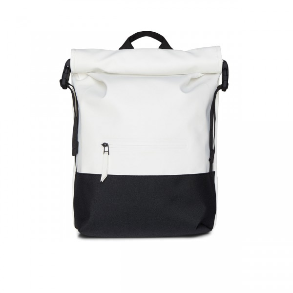 RAINS BUCKLE ROLLTOP Backpack off white Ansicht 1