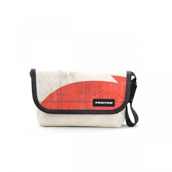 FREITAG Tasche F41 Hawaii Five-O weiß & rot Ansicht 1
