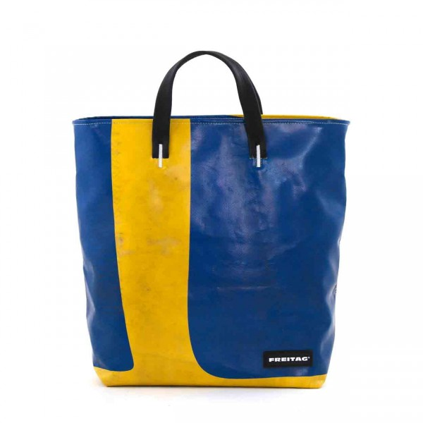 FREITAG Tasche Bob F203 Gelb & Blau Ansicht 1