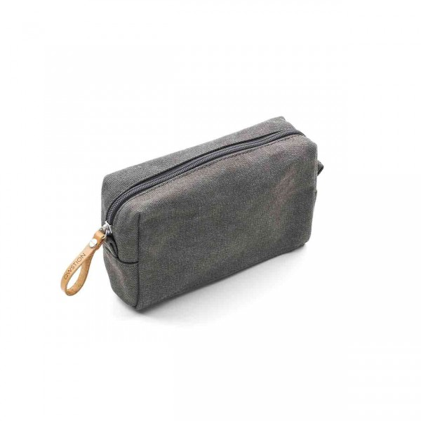 Qwstion Amenity Pouch Kulturbeutel washed grey Ansicht 1