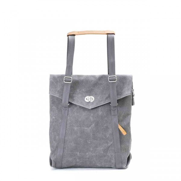 Qwstion Tote Tasche washed grey Ansicht 1