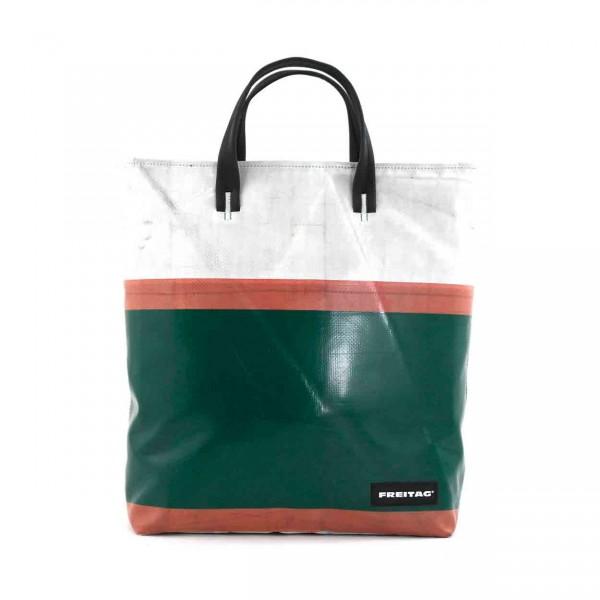 FREITAG Tasche F203 Bob grün, weiß & rot Ansicht 1
