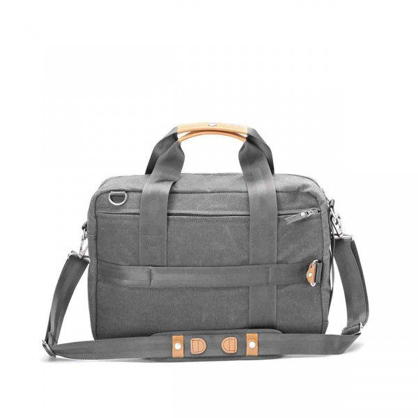 Qwstion Officebag Tasche washed grey Ansicht 2
