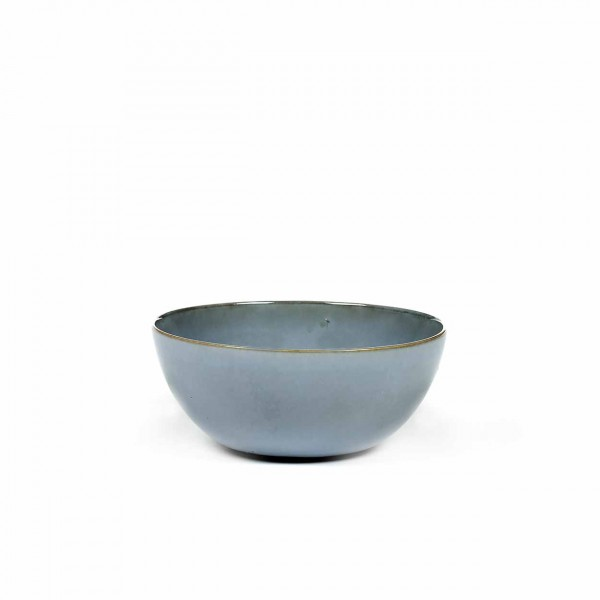 Serax bowl m smokey blue