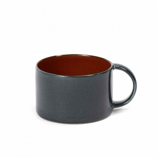 Serax Kaffeetasse D8 dark blue / rust