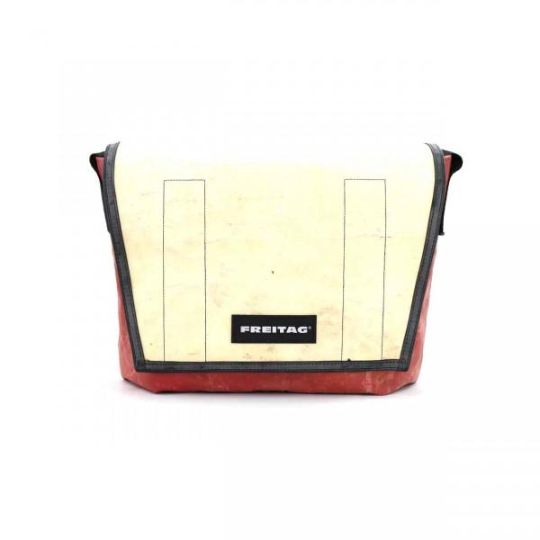 FREITAG Tasche F14 Dexter 31 Rot Weiß Ansicht 1