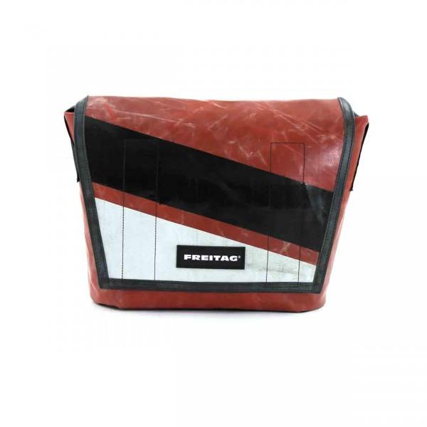 FREITAG Tasche F14 Dexter rot, schwarz & weiß Ansicht 1