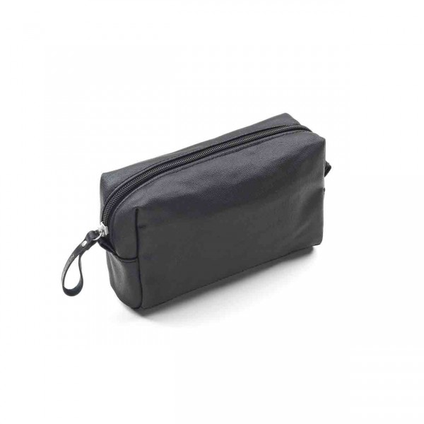 Qwstion Amenity Pouch Kulturbeutel organic jetblack Ansicht 1