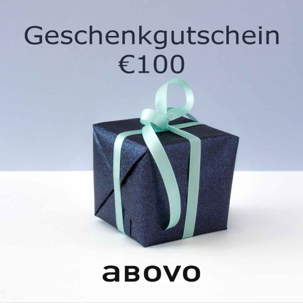 Abovo Geschenkgutschein 100 EUR