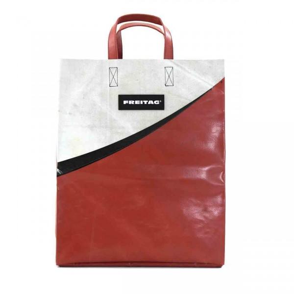FREITAG Tasche F52 Miami Vice rot & weiß Ansicht 1