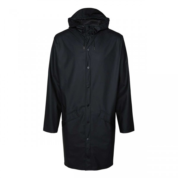 RAINS Long Jacket black Ansicht 1