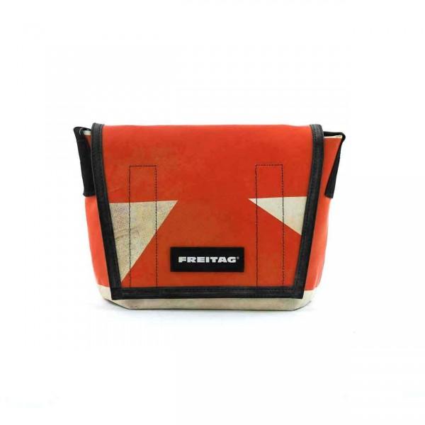 FREITAG Tasche F11 Lassie orange & weiß Ansicht 1