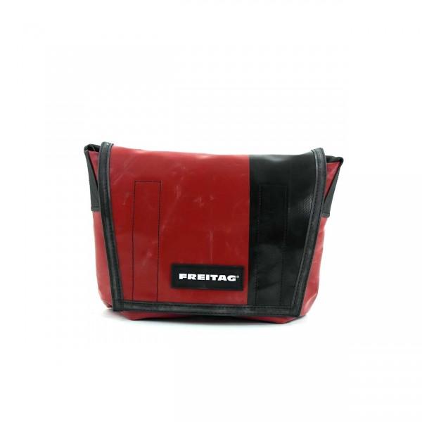 FREITAG Tasche Lassie F11 Rot & Schwarz Ansicht 1