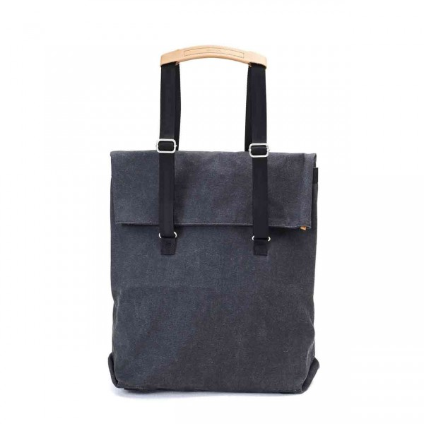 Qwstion Daytote Tasche washed black Ansicht 1