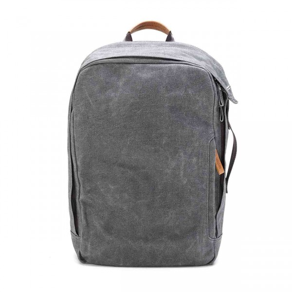 Qwstion Backpack Rucksack washed grey Ansicht 1