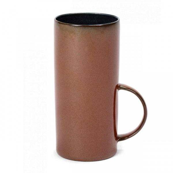 Serax Teetasse D6 dark blue / rust