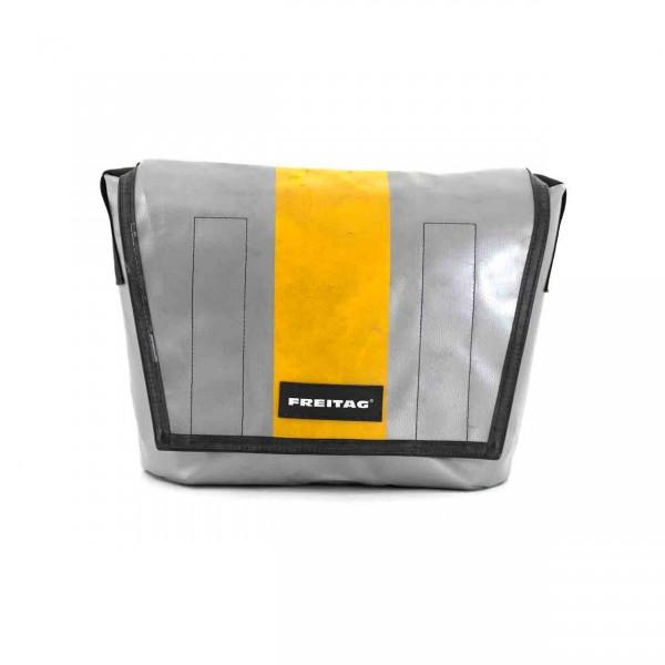 FREITAG Tasche F14 Dexter silber & gelb Ansicht 1