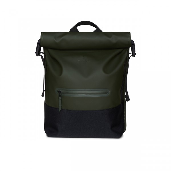 RAINS BUCKLE ROLLTOP Backpack green Ansicht 1