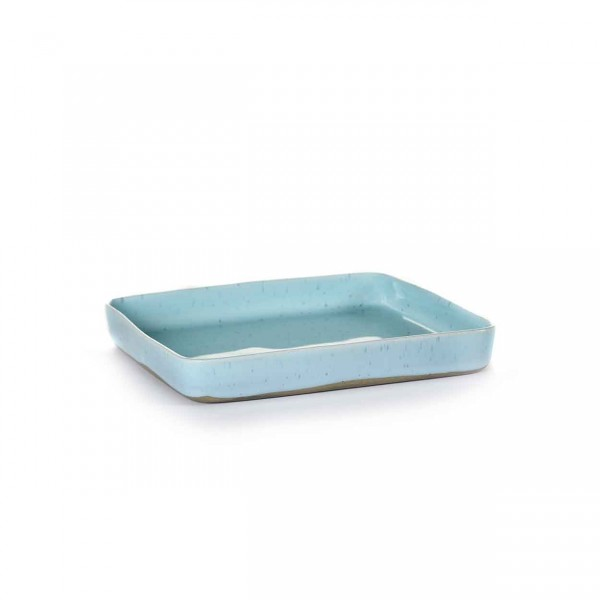Serax quadratische Plate 18x18 light blue