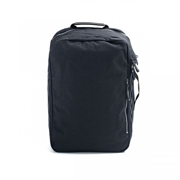 Qwstion Backpack Rucksack organic midnight blue Ansicht 1